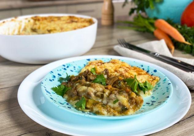 Олег жарит! Запеканка из картофеля с мясом, или Британский пастуший пирог горячие блюда,запеканки,кухни мира,мясные блюда,овощные блюда