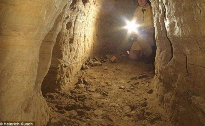 Огромные подземные туннели в…