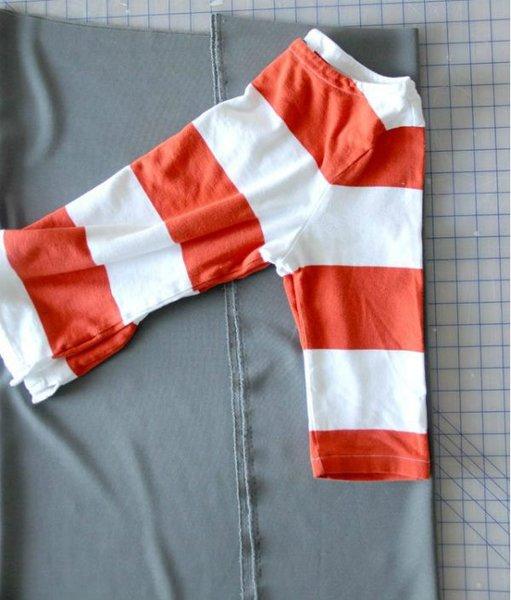 Как сшить платье без выкройки с помощью  футболки мастерство