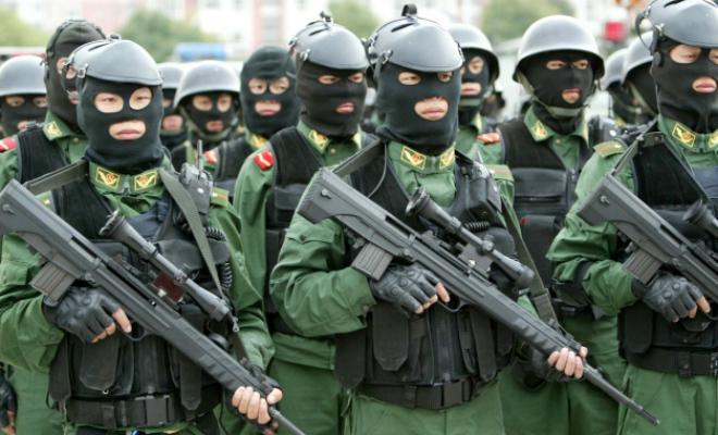 Подготовка китайской армии: видео из лагеря спецназа