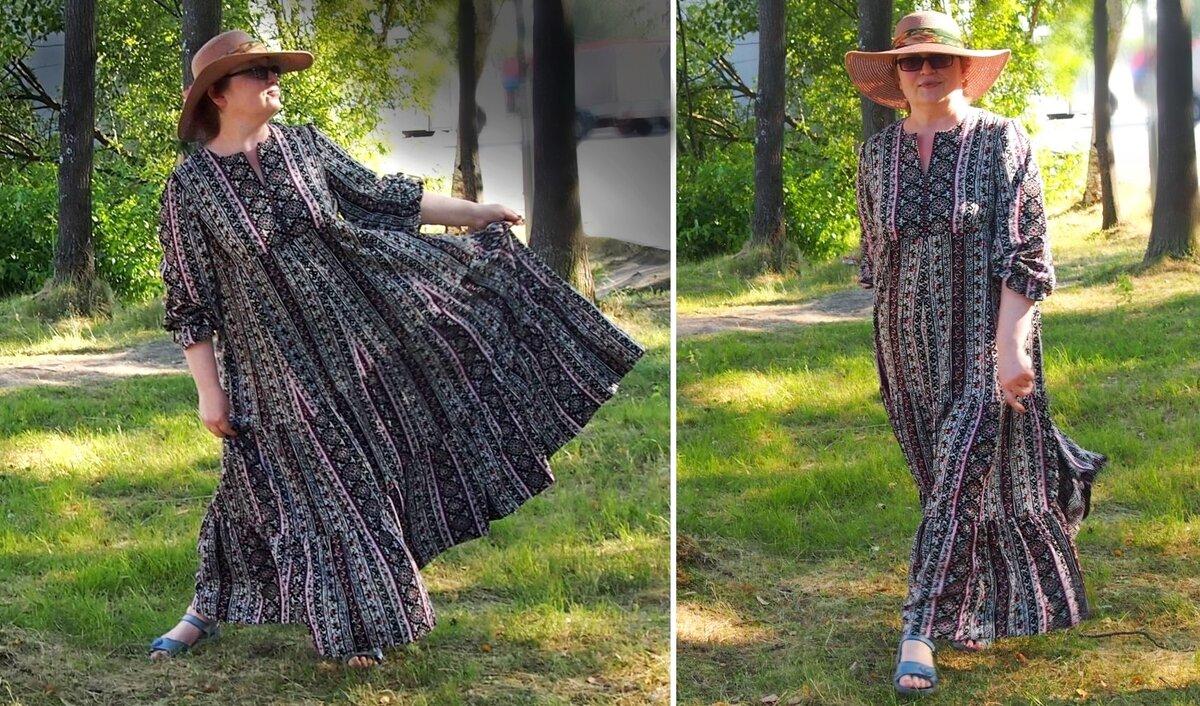 Кантри стиль для дамочек XL. Сшила это платье и помогу вам. Можно обойтись без примерок