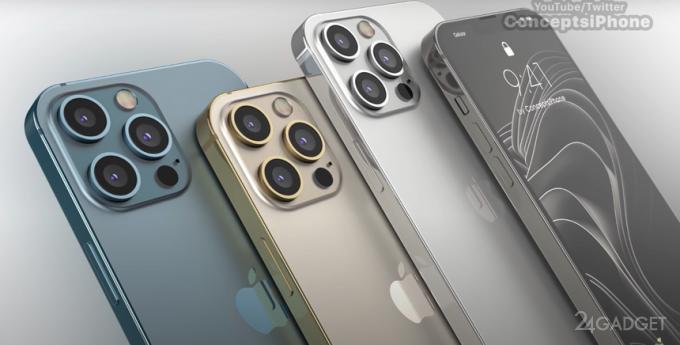 Новые чехлы для iPhone 13 Pro показали изменения в блоке камер смартфона