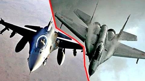 МиГ-29 против F-16: битва легких истребителей