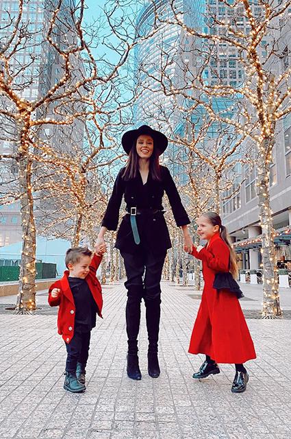 Канадская супермодель Коко Роша ждет третьего ребенка Звездные дети