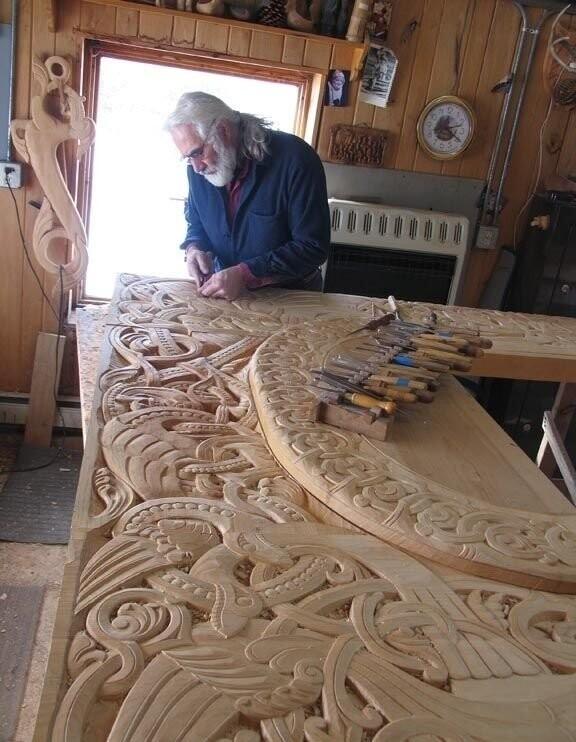 Как такую красоту создает дедушка, по имени Филл, в свои 90 лет,  восхитительно! handmake,дерево,поделки своими руками