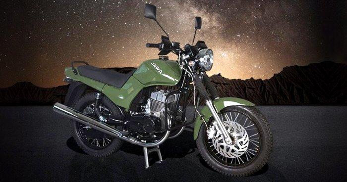 Легендарный советский мотоцикл «Ява» возвращается в обновленном виде
