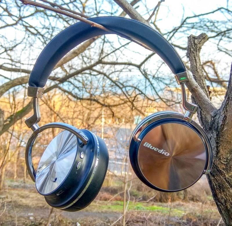 Отличные беспроводные наушники Bluedio T4 Bluetooth V4.2 с бархатным звуком