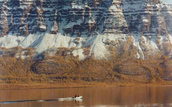 Хантайское озеро глубокое озеро, природа, факты