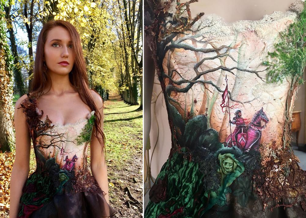 Француженка Sylvie Facon создает платья, которые поражают даже видавших виды людей, фото № 2