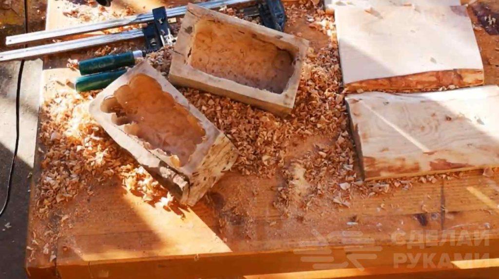 Изготовление деревянных цветочных горшков из обрезков доски сделать, горшок, автор, чтобы, дерева, углубление, нужно, сбора, основание, покрасить, горшка, можно, Данный, дренажные, силиконовым, обмазывает, Углубление, горелкой, газовой, обжечь
