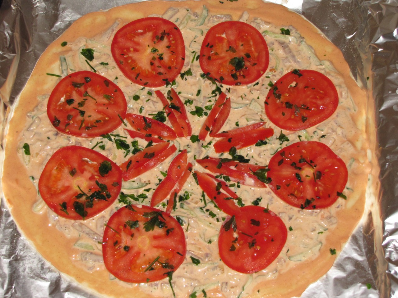 Аппетитная пицца))