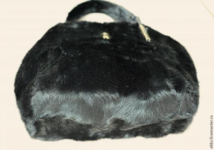 Шьем сумку из меха норки сделай сам