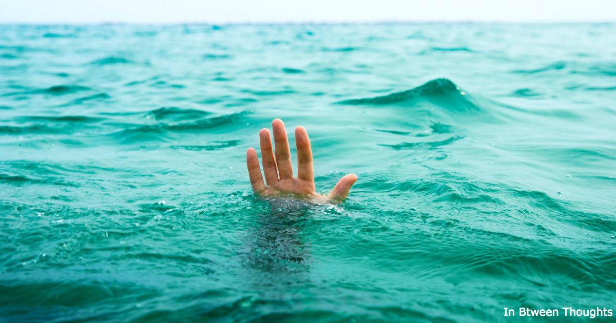 Когда кто-то тонет, в 90% случаев он НЕ зовет на помощь! Вот почему