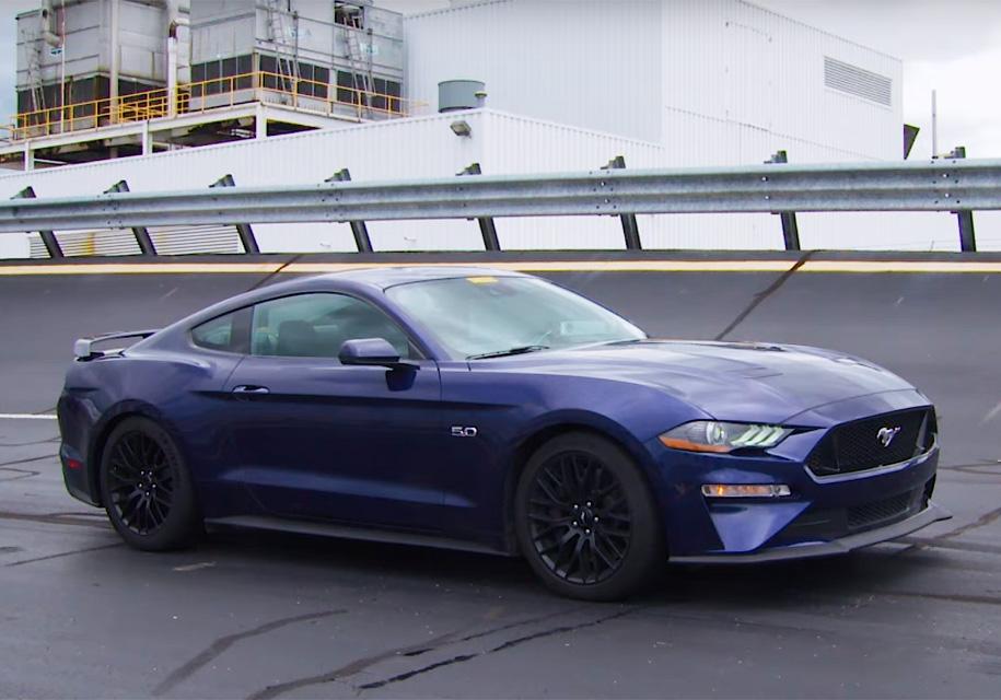 Ford сделал «Мустанги» быстр…