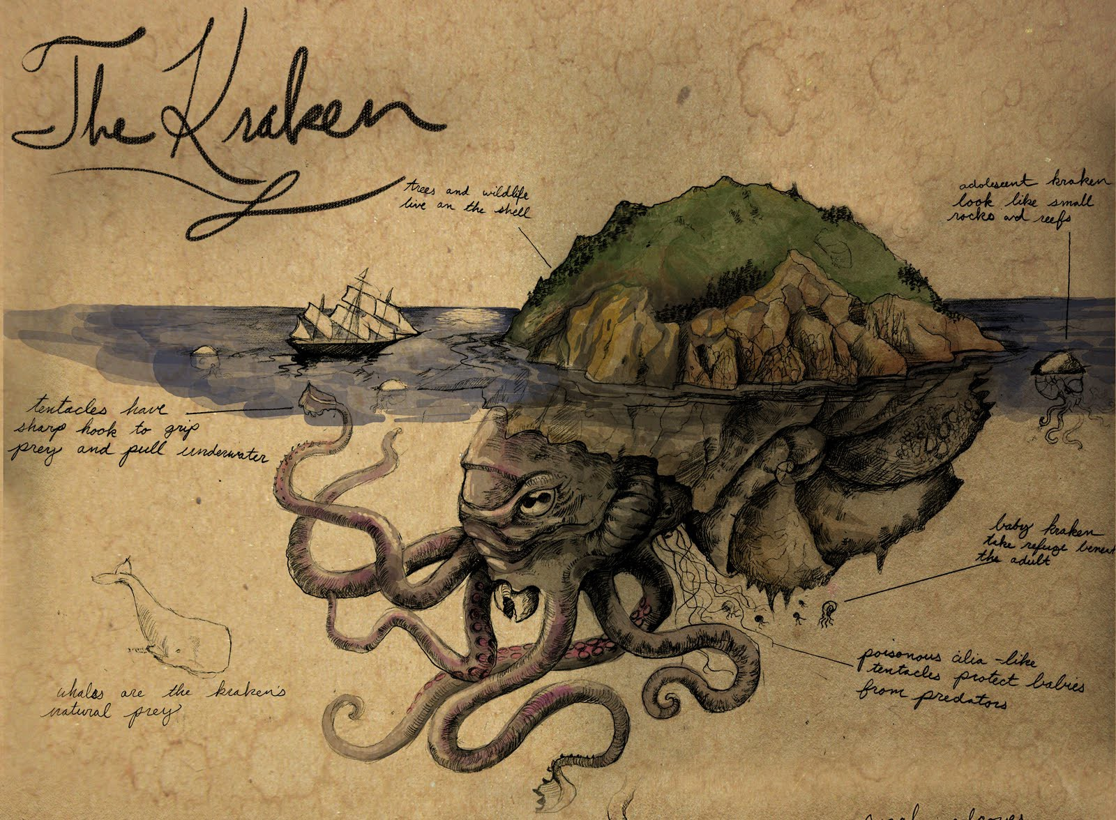 10 самых жутких тварей из скандинавских легенд