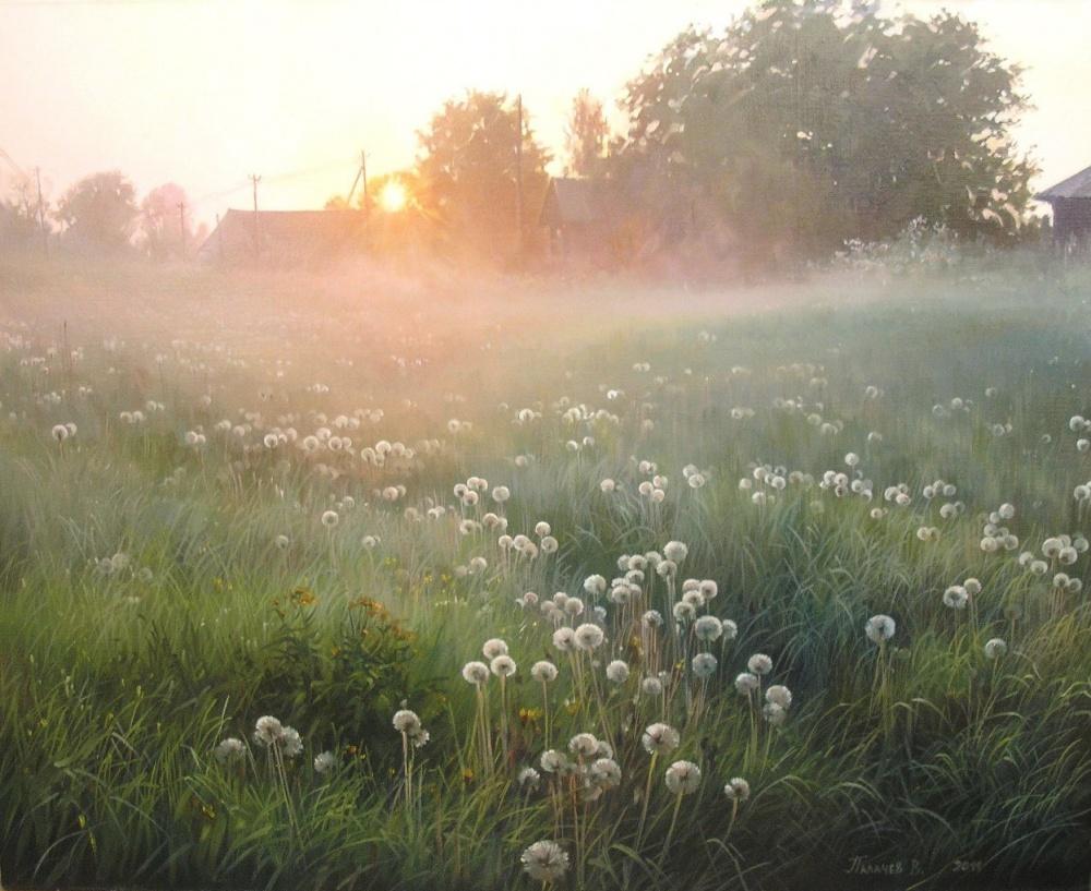 деревенское утро картинки судьба посылает