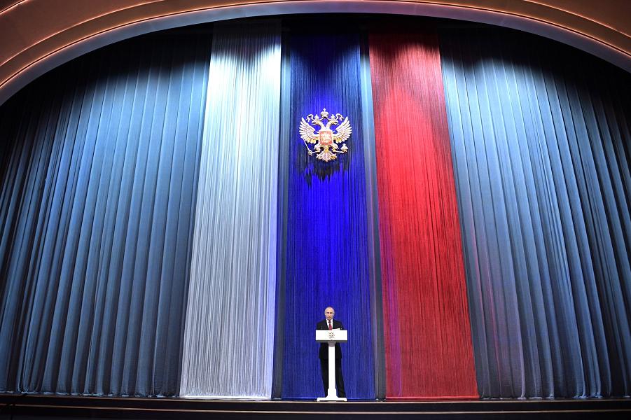 Россия - миролюбивое государство. Наше оружие не имеет аналогов в мире