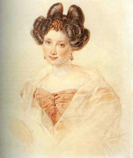 Рассматриваем портреты — самая красивая возлюбленная Пушкина