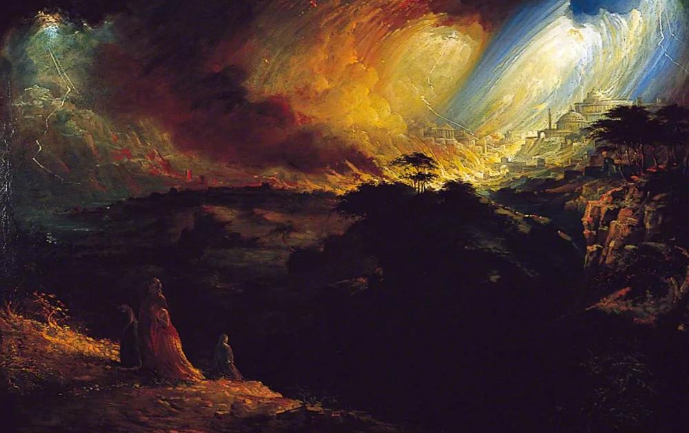 гибель Содом и Гоморра