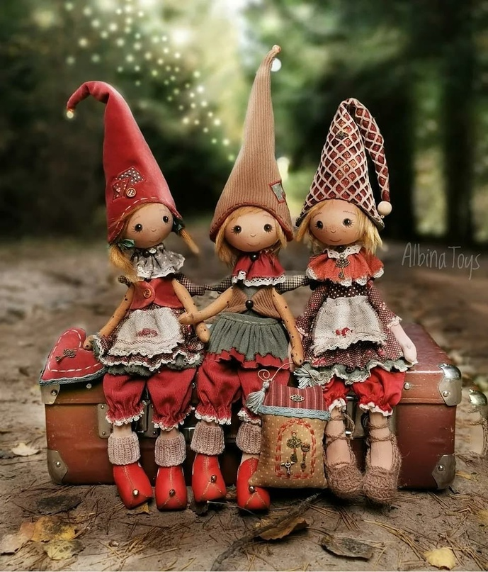 Куклы Альбины Шароновой