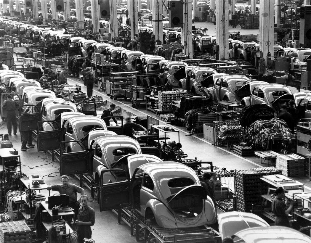 Производство «Жуков» после войны