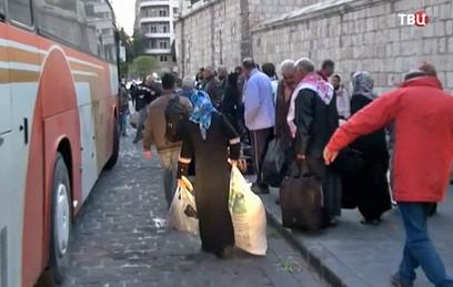 В провинции Дейр эз-Зор возобновилось автобусное сообщение