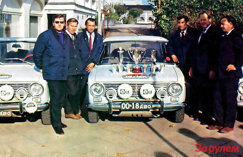 Дебют ВАЗ-2101 на ралли «Тур Европы» 1971 года оказался удачным.