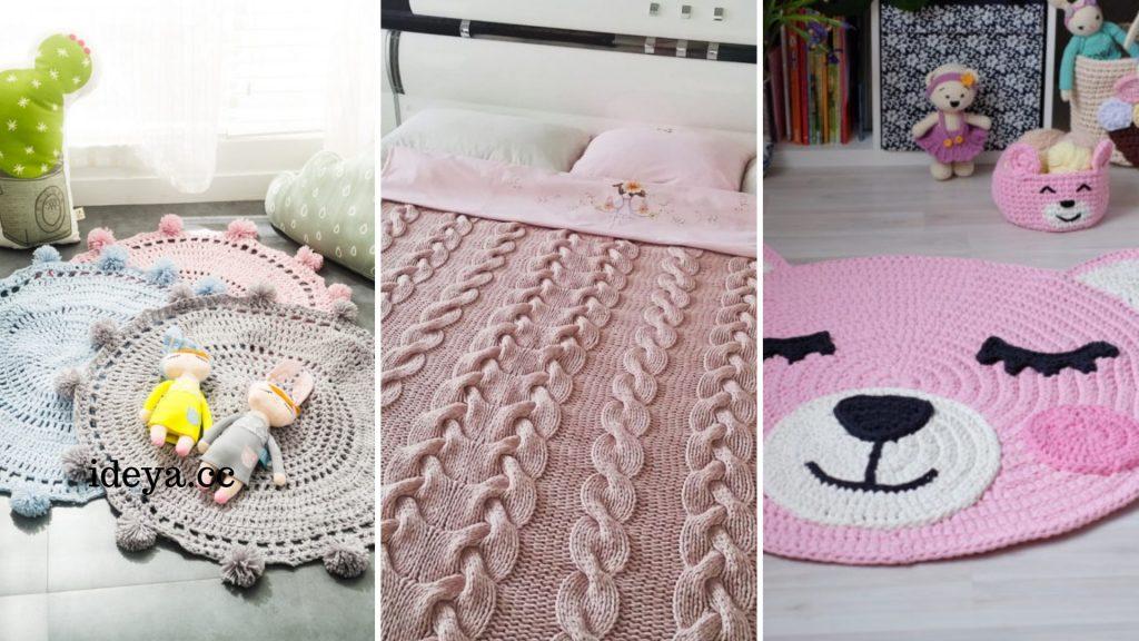 40 идей декора из пряжи, который сделает ваш дом уютнее