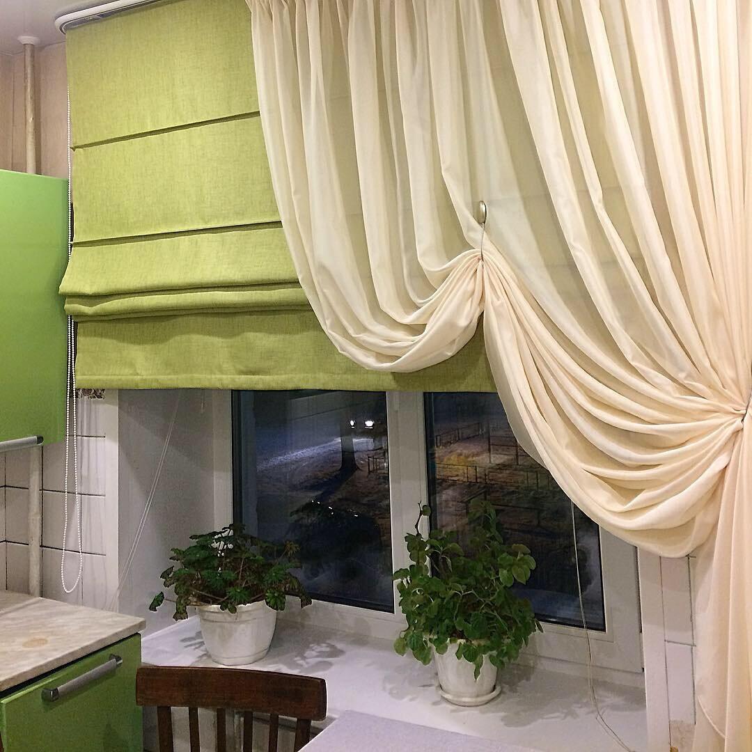 Такие римские шторы вы еще не видели  идеи для дома,интерьер и дизайн