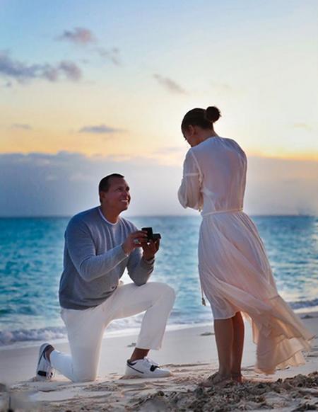 Дженнифер Лопес и Алекс Родригес воссоединились на Карибских островах: фото Звезды,Звездные пары