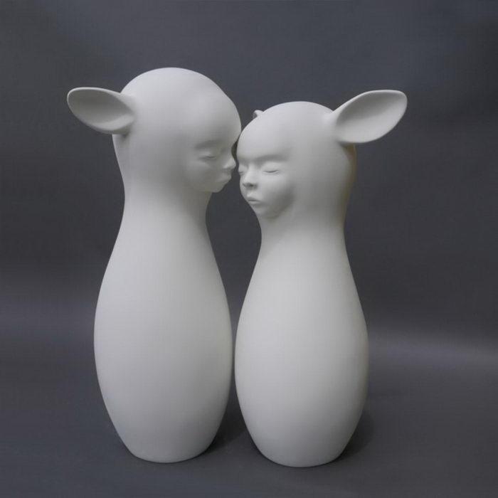 Необычные скульптуры Clementine Bal скульптура
