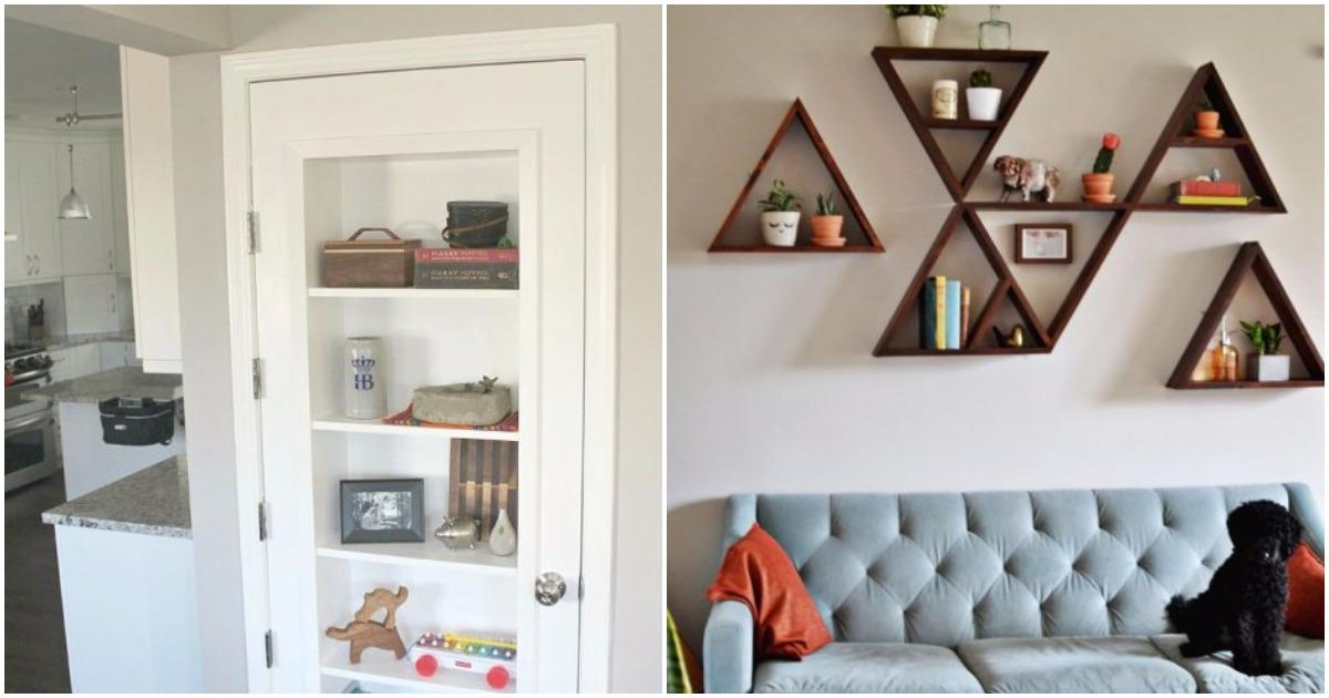 29 уникальных полок и стеллажей, которые украсят интерьер вашего дома