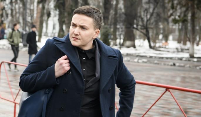 Савченко набросилась на Поро…