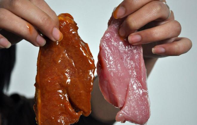 В Китае подделывают мясо
