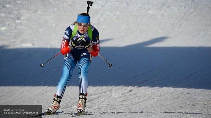 Сборная России по биатлону заняла пятое место в женской эстафете