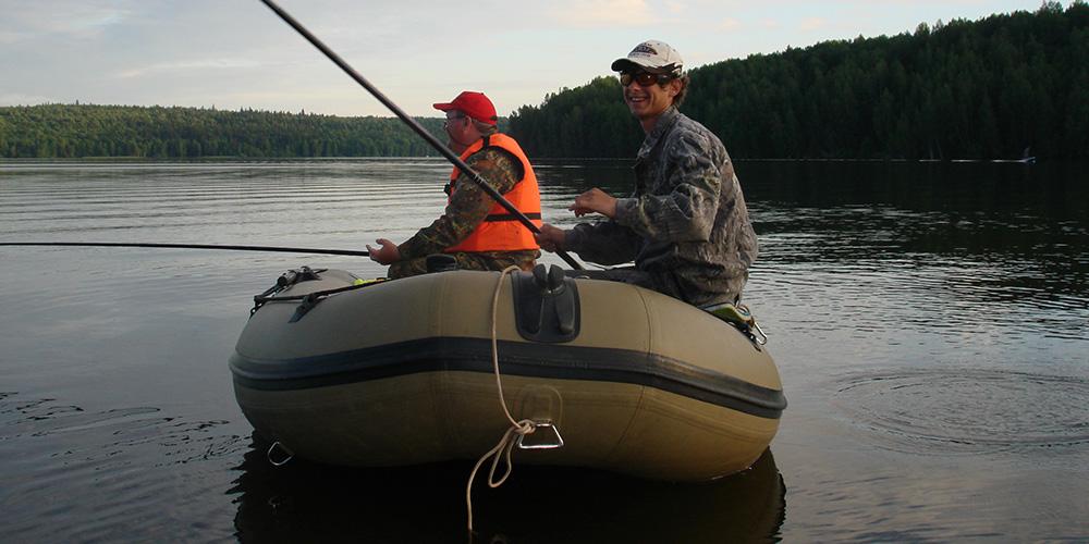 Подготовка лодки ПВХ к рыбалке