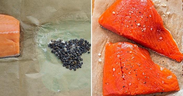Вот как засолить красную рыб…