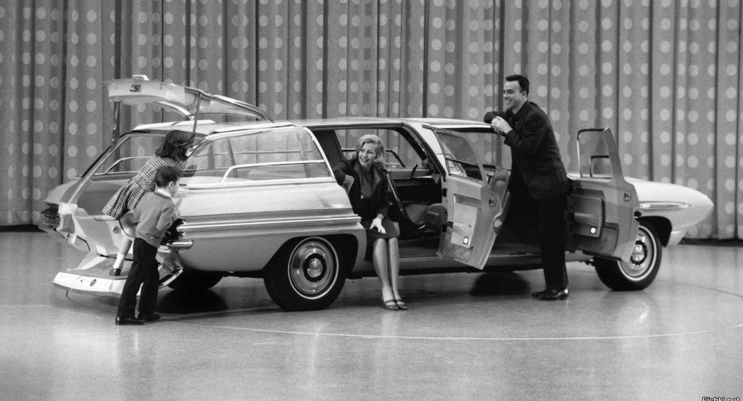 Ford Aurora — концепт универсала для всей семьи Автомобили