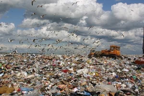 Москвичам не дышать! В столице построен самый большой мусорный полигон в Европе.