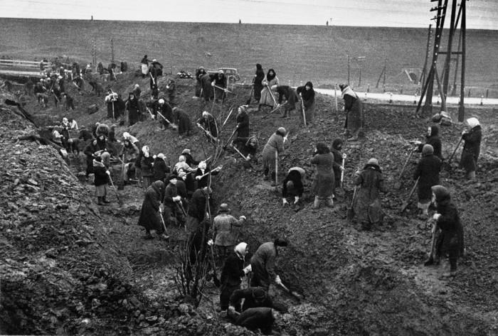 Уникальная коллекция фотографий, сделанных военкорами в первые месяцы Великой Отечественной войны фото старина