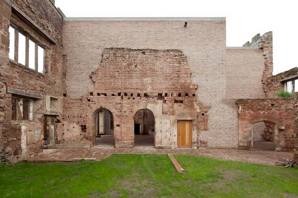 Превращение замка в Англии в современный жилой дом архитектура,великобритания,замки,ремонт и строительство