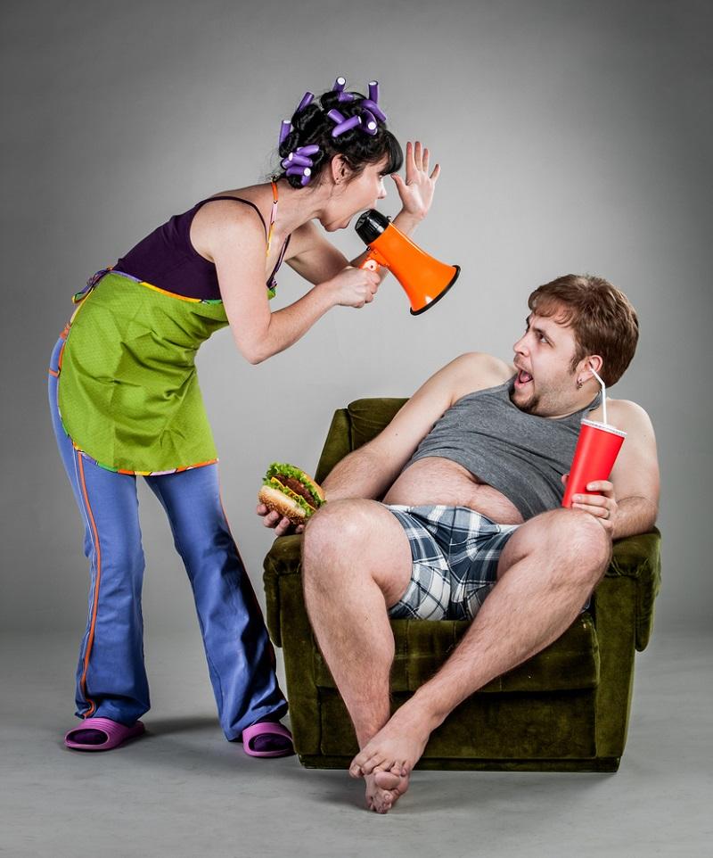Муж с женой ругаются прикольные картинки