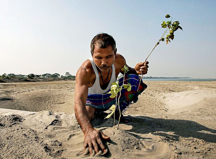 Герои Земли: человек, который создал лес и спас остров герои,люди,природа