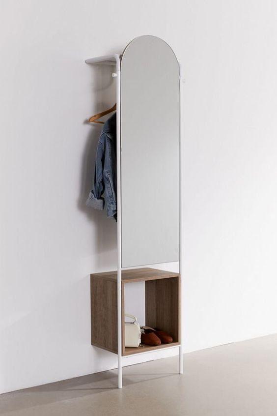 Идеи для маленькой прихожей оформления, хранения, внимание, прихожей, зеркала, поместится, которые, визуально, стильные, необычные, приборы, осветительные, помогут, много, вещей, расширить, системами, большим, современными, мебель