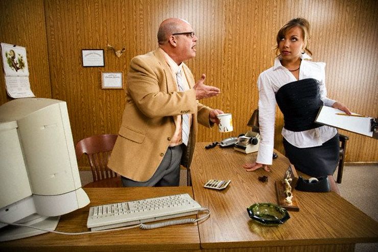как секретарши развлекают своих шефов однажды