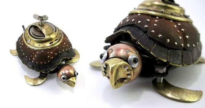 Российский художник делает удивительные вещи в стиле стимпанк
