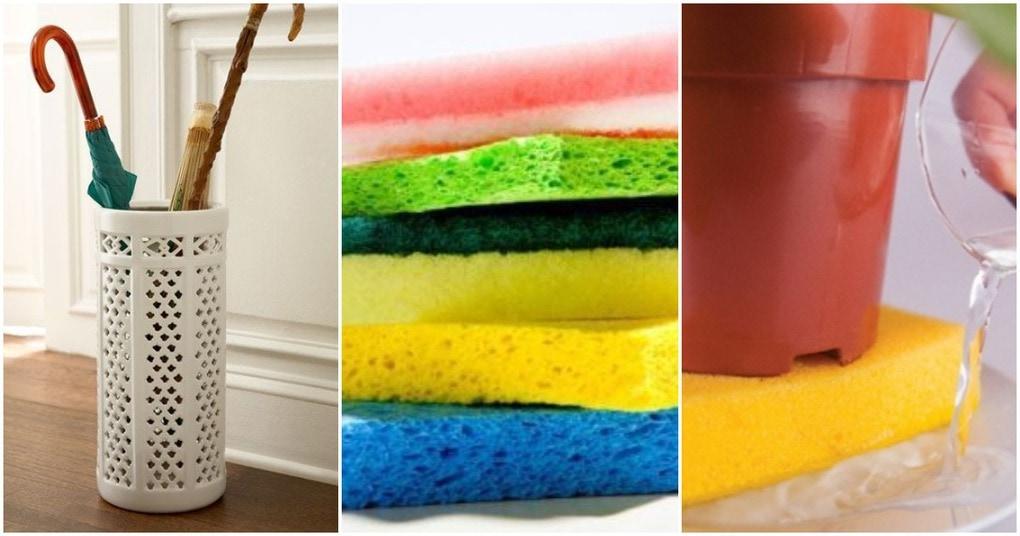 Необычное в привычном: неожиданные способы использования кухонной губки