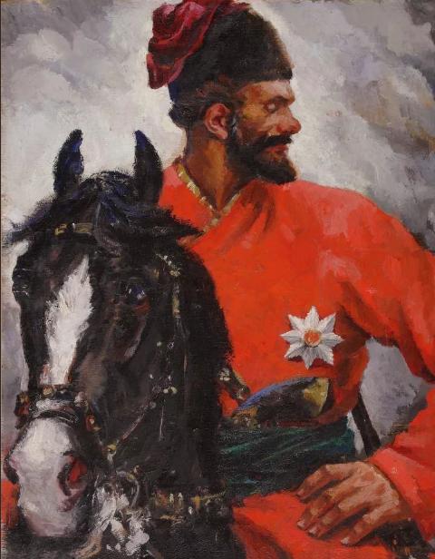 Емельян Пугачев на коне