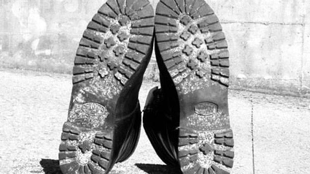 Когда гвозди играют роль ботинки, Брамани, итальянского, солдата, стали, подошву, хорошо, которые, Восточном, использовали, начал, Bramani, теперь, просто, Vitale, подошвой, Витале, итальянцы, итальянских, которой