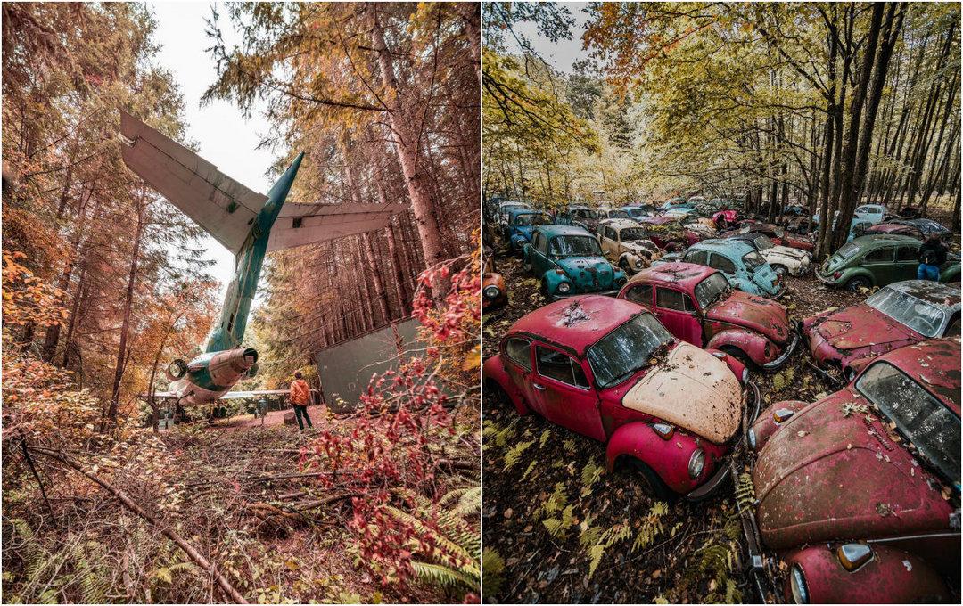 Заброшенная Америка: потрясающие Urbex фотографии Алекса Маккензи